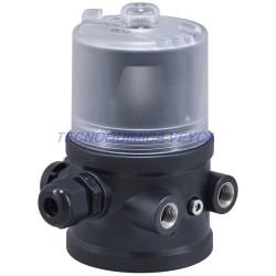 multiCELL Transmisor/controlador multicanal/multifuncion Tipo 8619 PANEL CONTROL pH 1/4 DIN DC