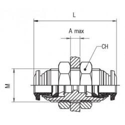 Portavarillas Flexible 6-10mm Diametro