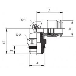 "Visor de líquido SGI 22S 014-0039 7/8"""