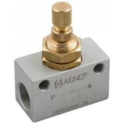 """Valvula de seguridad TOSACA roscada 1216 INOX CF3M/316L DN1/2x3/4"""" 1,3Bar"""