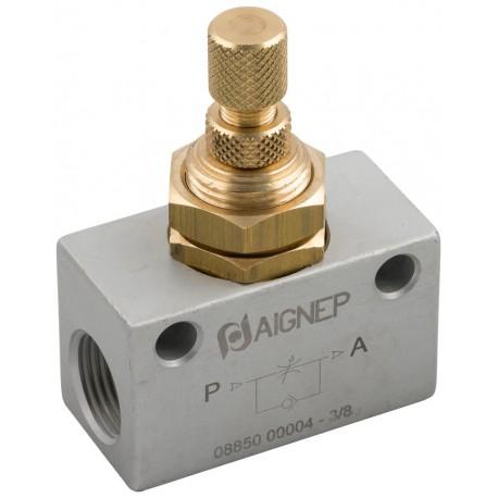 """Valvula de seguridad TOSACA roscada 1216 INOX CF3M/316L DN3/4x1"""" 15Bar"""