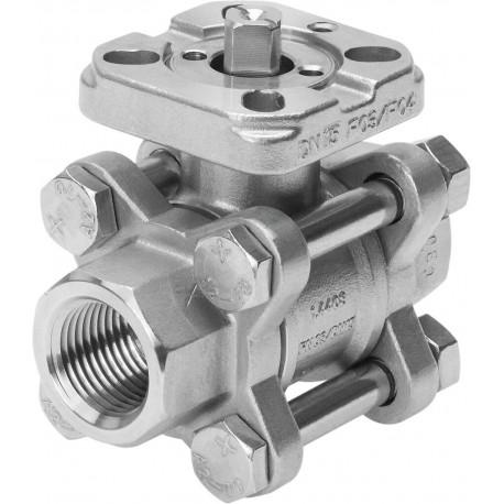 """Valvula de seguridad TOSACA roscada 1216 INOX CF3M/316L DN1'x1"""" BSP 12Bar"""