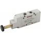 Detector sensor inductivo NBB5-F9-E2-V3 3 hilos cc PNP NA, con conector V3
